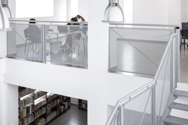 arquitectura y reformas en biblioteca Sevilla
