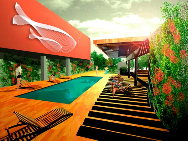 Reforma en piscina hotel barceló Marbella