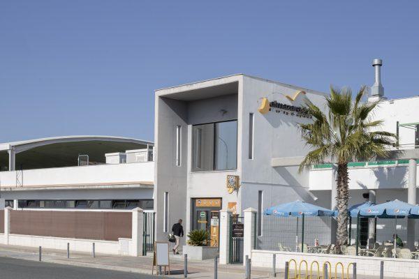proyecto arquitectonico de club deportivo padel sevilla Utrera