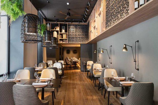 obra y proyecto Restaurante Sevilla