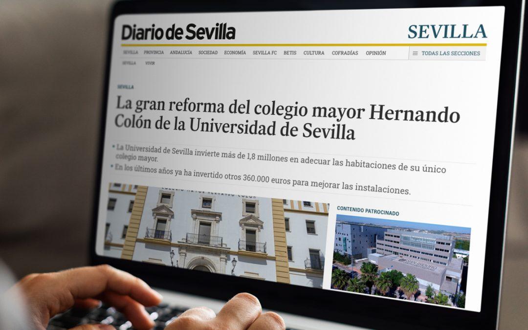 REFORMA DEL COLEGIO MAYOR HERNANDO COLÓN DE LA UNIVERSIDAD DE SEVILLA